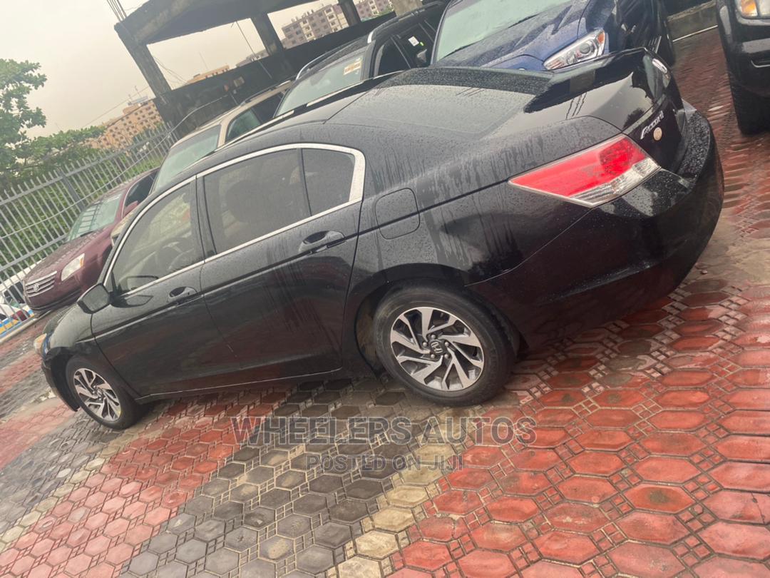 Honda Accord 2010 Sedan EX Automatic Black | Cars for sale in Amuwo-Odofin, Lagos State, Nigeria