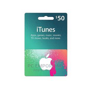 iTunes Gift Card US - $50 | Accessories & Supplies for Electronics for sale in Abuja (FCT) State, Gudu
