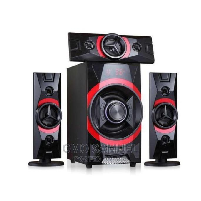 Hisonic 3.1ch Bluetooth Home Theatre System-Ms-6611bt