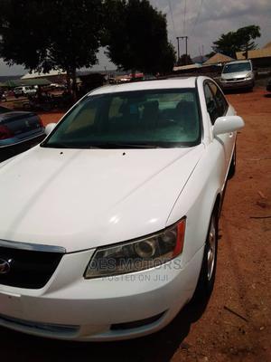 Hyundai Sonata 2008 3.3 V6 GLS Automatic White | Cars for sale in Abuja (FCT) State, Kurudu
