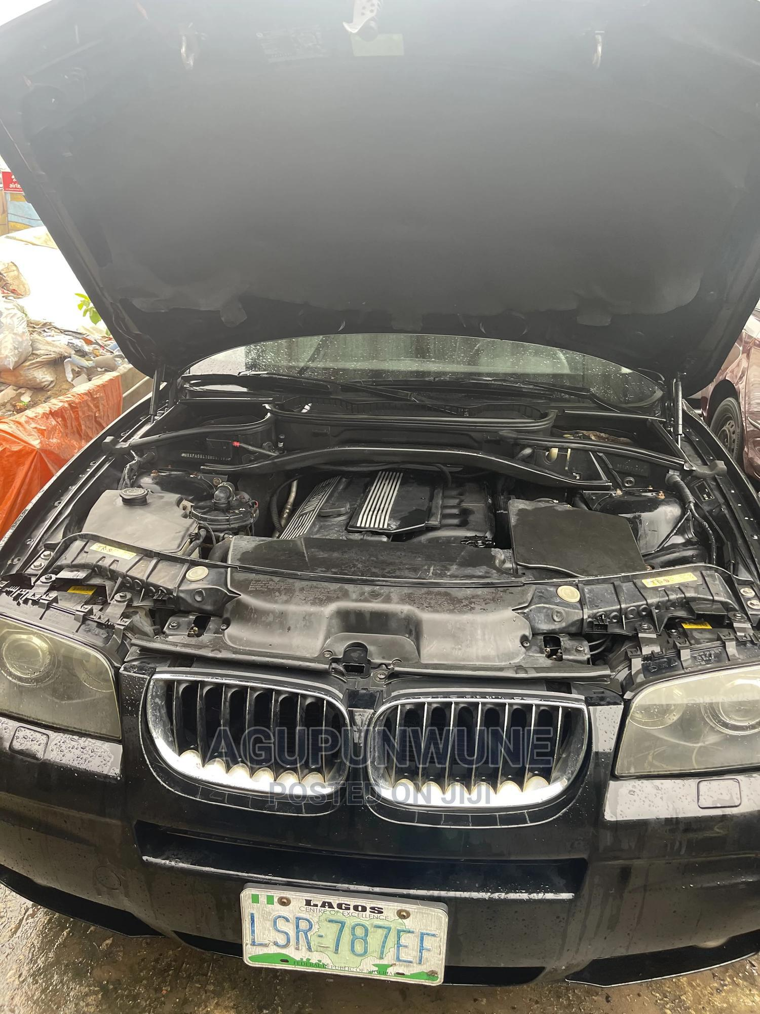 Archive: BMW X3 2006 Black