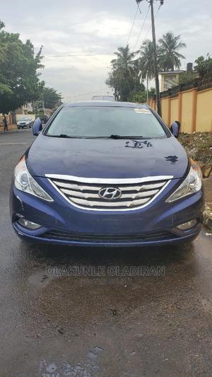 Hyundai Sonata 2011 Blue   Cars for sale in Lagos State, Ikeja