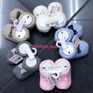 Baby Knitted Booties | Children's Clothing for sale in Lagos State, Ilupeju
