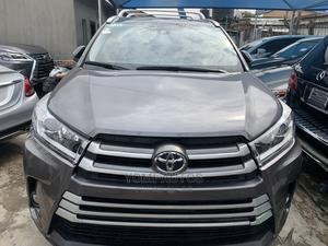 Toyota Highlander 2018 Gray   Cars for sale in Lagos State, Surulere