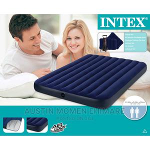Intex Inflatable Airbed With Pillows and Pump | Furniture for sale in Lagos State, Surulere