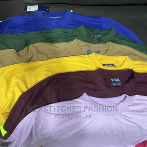 Best Big Oversized 100% Thick Cutton Round Neck Tee Shirt   Clothing for sale in Lagos State, Ikeja