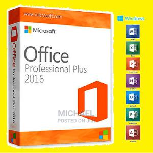 Genuine Microsoft Office PRO Plus 2016 (Jumbo Offer) | Software for sale in Lagos State, Ikeja