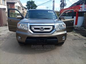 Honda Pilot 2009 Gold | Cars for sale in Lagos State, Surulere