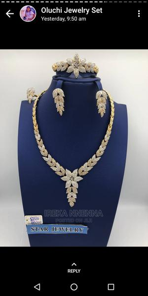 Fashion Charm Gold Jewelry Set for Women   Jewelry for sale in Lagos State, Apapa