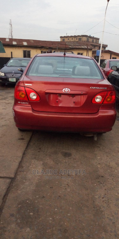 Archive: Toyota Corolla 2003 Sedan Other