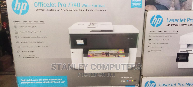 HP Officejet Pro 7740 Wide Format All In One Printer
