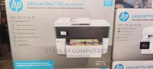 HP Officejet Pro 7740 Wide Format All In One Printer | Printers & Scanners for sale in Lagos State, Ikeja