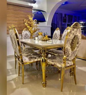 Gold Dining Sets | Furniture for sale in Lagos State, Amuwo-Odofin