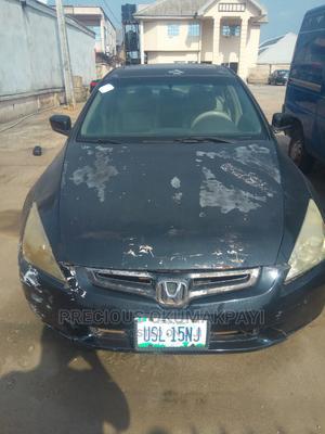 Honda Accord 2003 Automatic Black | Cars for sale in Edo State, Benin City