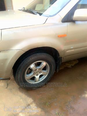 Honda Pilot 2006 EX 4x4 (3.5L 6cyl 5A) Brown | Cars for sale in Delta State, Oshimili South