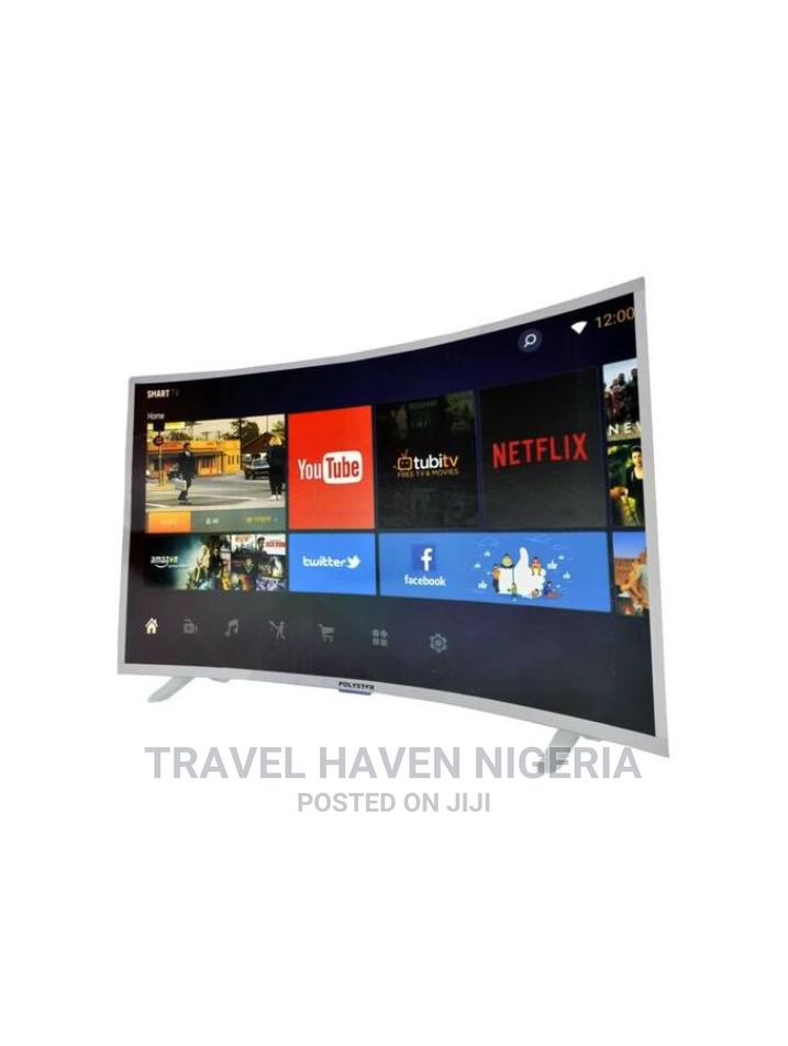 Polystar 65'' Inches Android Smart 4k UHD Curved TV