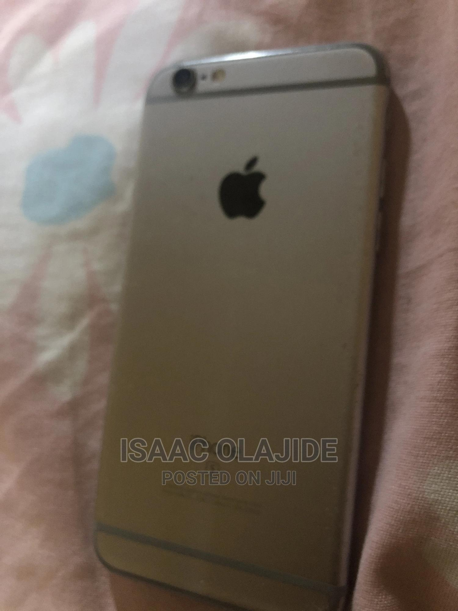 Apple iPhone 6s 16 GB Silver   Mobile Phones for sale in Ajah, Lagos State, Nigeria
