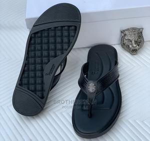 Billionaire Leather Slippers | Shoes for sale in Lagos State, Surulere