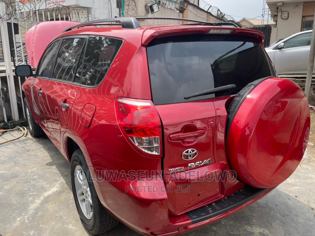 Toyota RAV4 2007 2.0 4x4 Red   Cars for sale in Ojodu, Lagos State, Nigeria