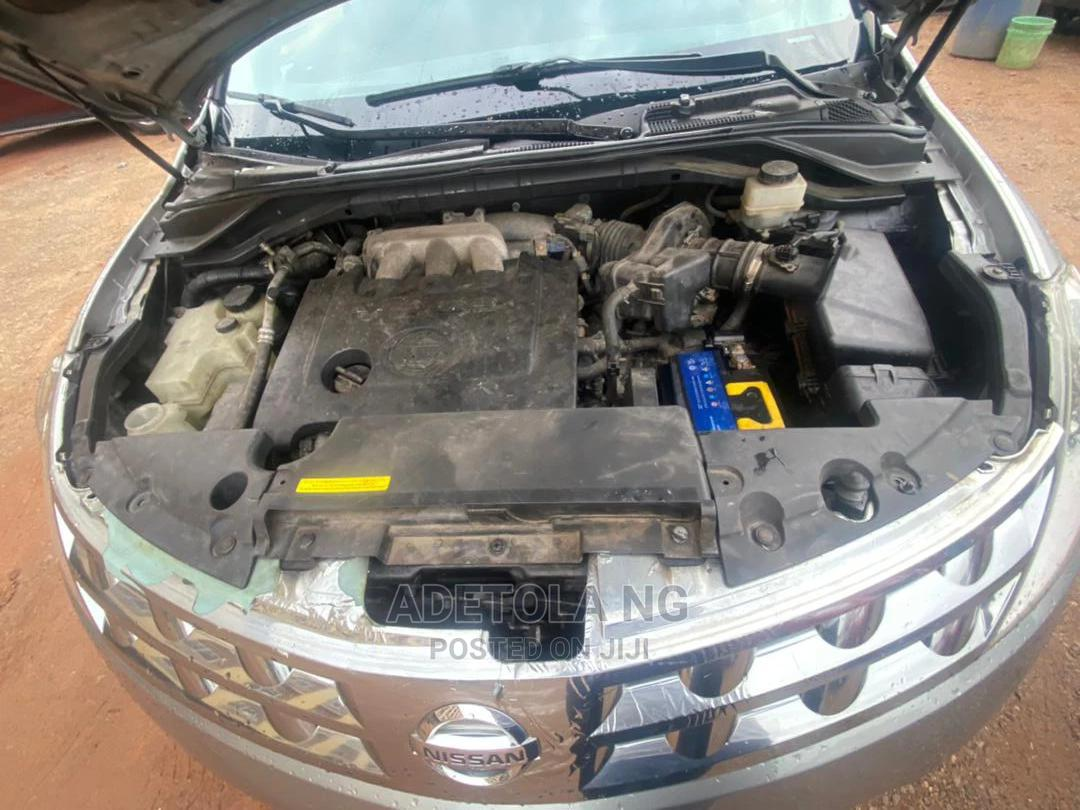 Nissan Murano 2003 Gray   Cars for sale in Ikeja, Lagos State, Nigeria