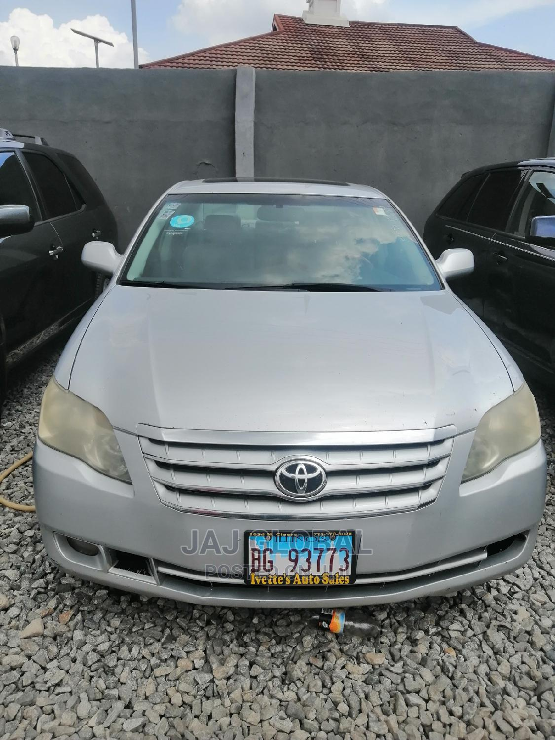 Toyota Avalon 2007 Limited Silver