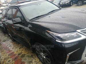 New Lexus LX 2020 570 Three-Row Black | Cars for sale in Rivers State, Port-Harcourt