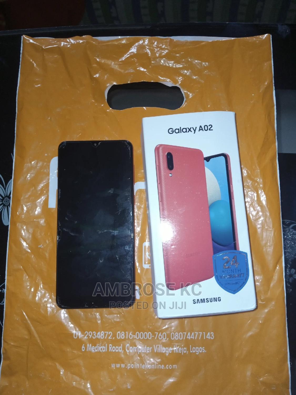 Samsung Galaxy A02 64 GB Red