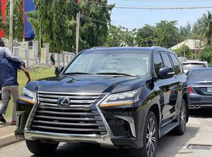 Lexus LX 2020 570 Three-Row Black   Cars for sale in Abuja (FCT) State, Asokoro