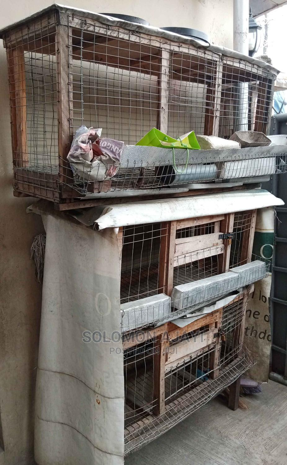 Wooden Poultry Cage