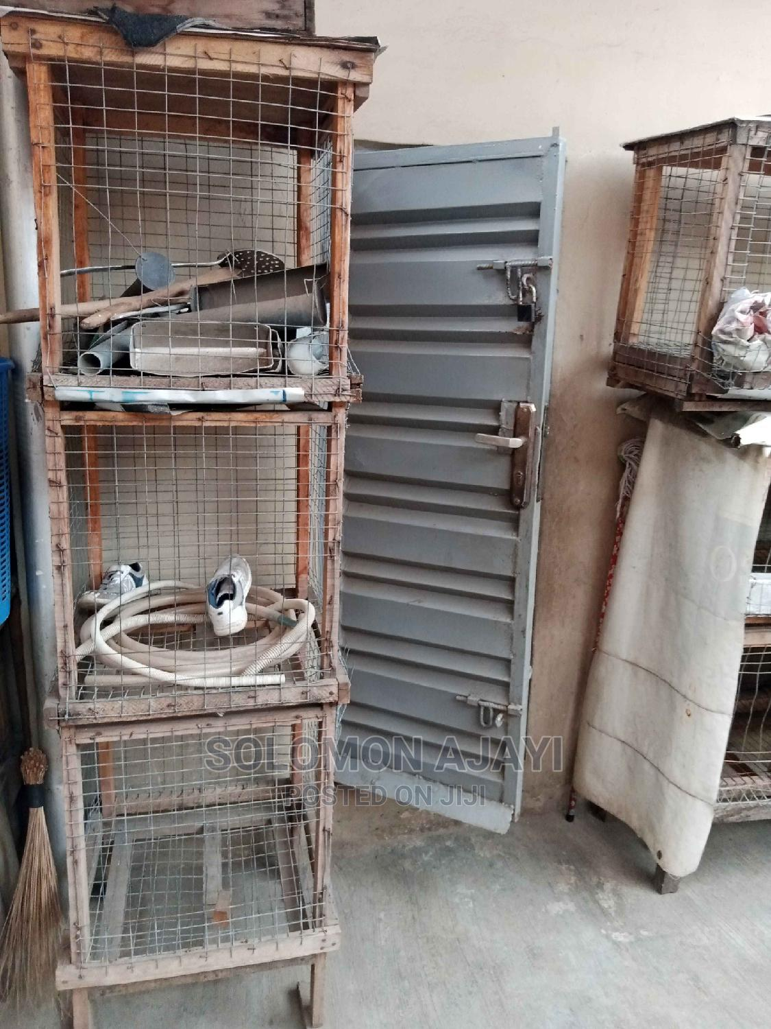 Wooden Poultry Cage | Farm Machinery & Equipment for sale in Surulere, Lagos State, Nigeria
