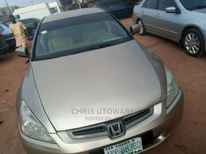 Honda Accord 2003 2.4 Automatic Gold   Cars for sale in Plateau State, Jos