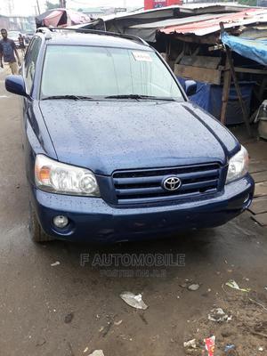 Toyota Highlander 2004 V6 AWD Blue | Cars for sale in Lagos State, Shomolu