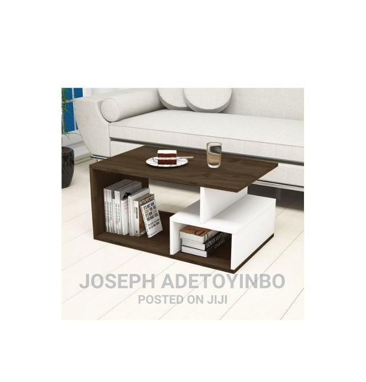 Custom Center Table With Storage Cabinet