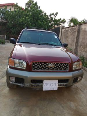 Nissan Pathfinder 2002 SE AWD SUV (3.5L 6cyl 4A) Red | Cars for sale in Lagos State, Ikorodu