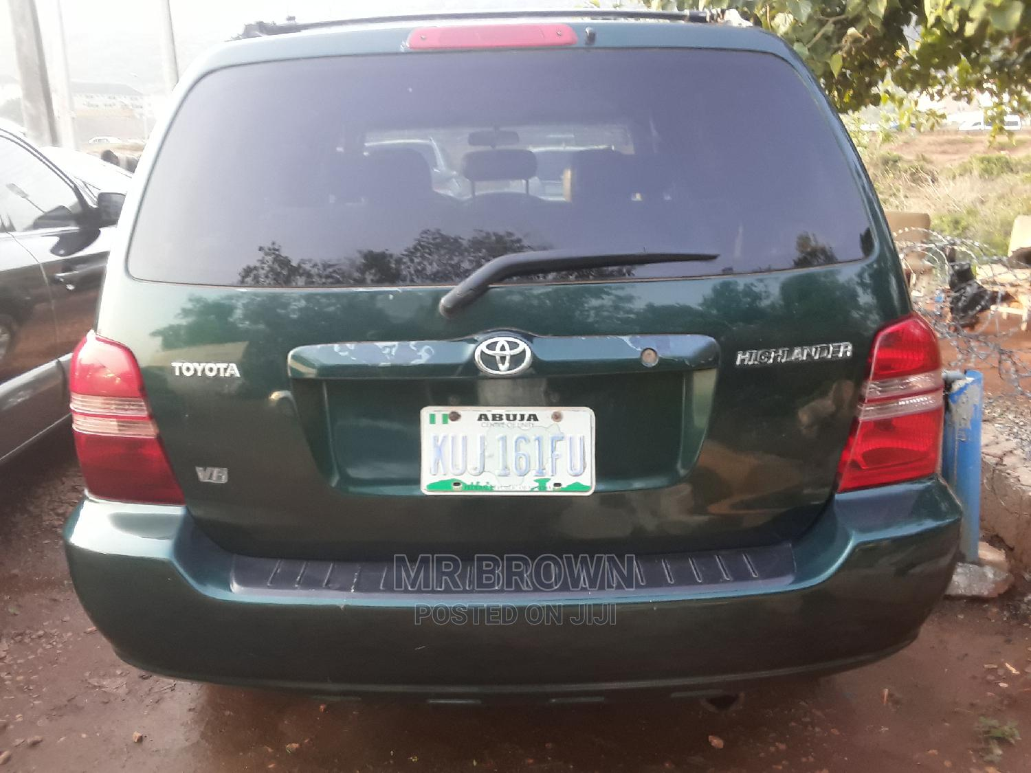 Toyota Highlander 2003 Green | Cars for sale in Katampe, Abuja (FCT) State, Nigeria