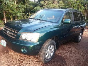 Toyota Highlander 2003 Green | Cars for sale in Abuja (FCT) State, Katampe