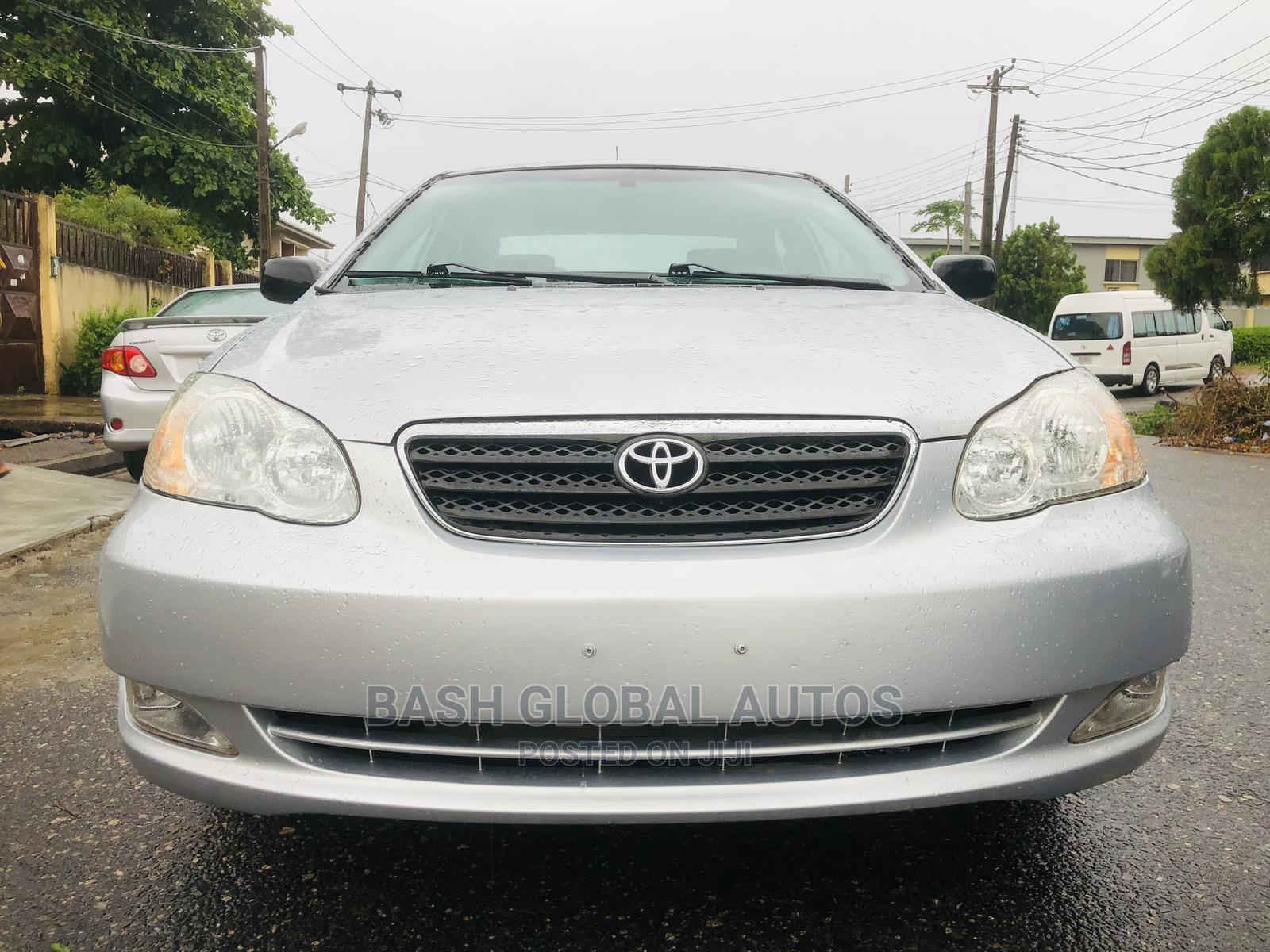 Archive: Toyota Corolla 2008 1.8 LE Silver
