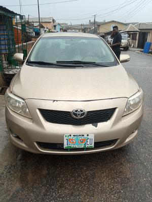 Toyota Corolla 2009 Gold | Cars for sale in Lagos State, Ogba