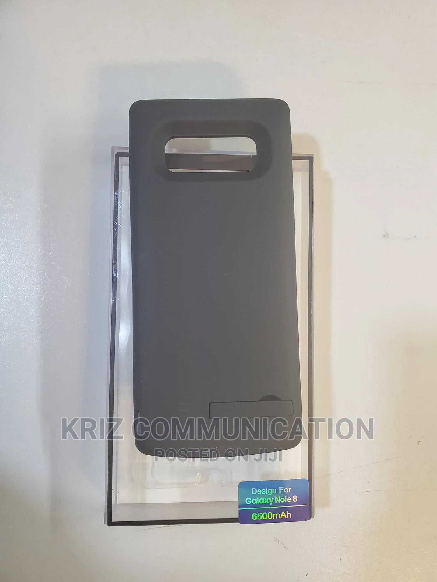 Samsung Note 8 6500mah Battery Case