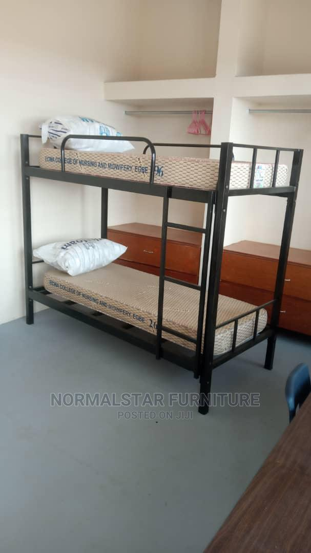 Metal Adults Bunk Bed( Bolts /Nuts Design) | Furniture for sale in Ikoyi, Lagos State, Nigeria