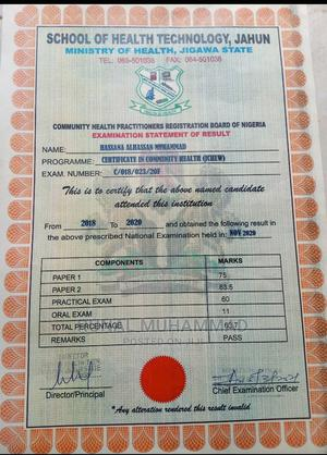 Healthcare Nursing CV | Healthcare & Nursing CVs for sale in Kano State, Gwale