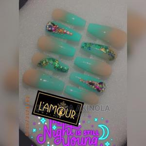 Readymade/ Press-On Nails, Makeup Gele   Health & Beauty Services for sale in Lagos State, Ipaja