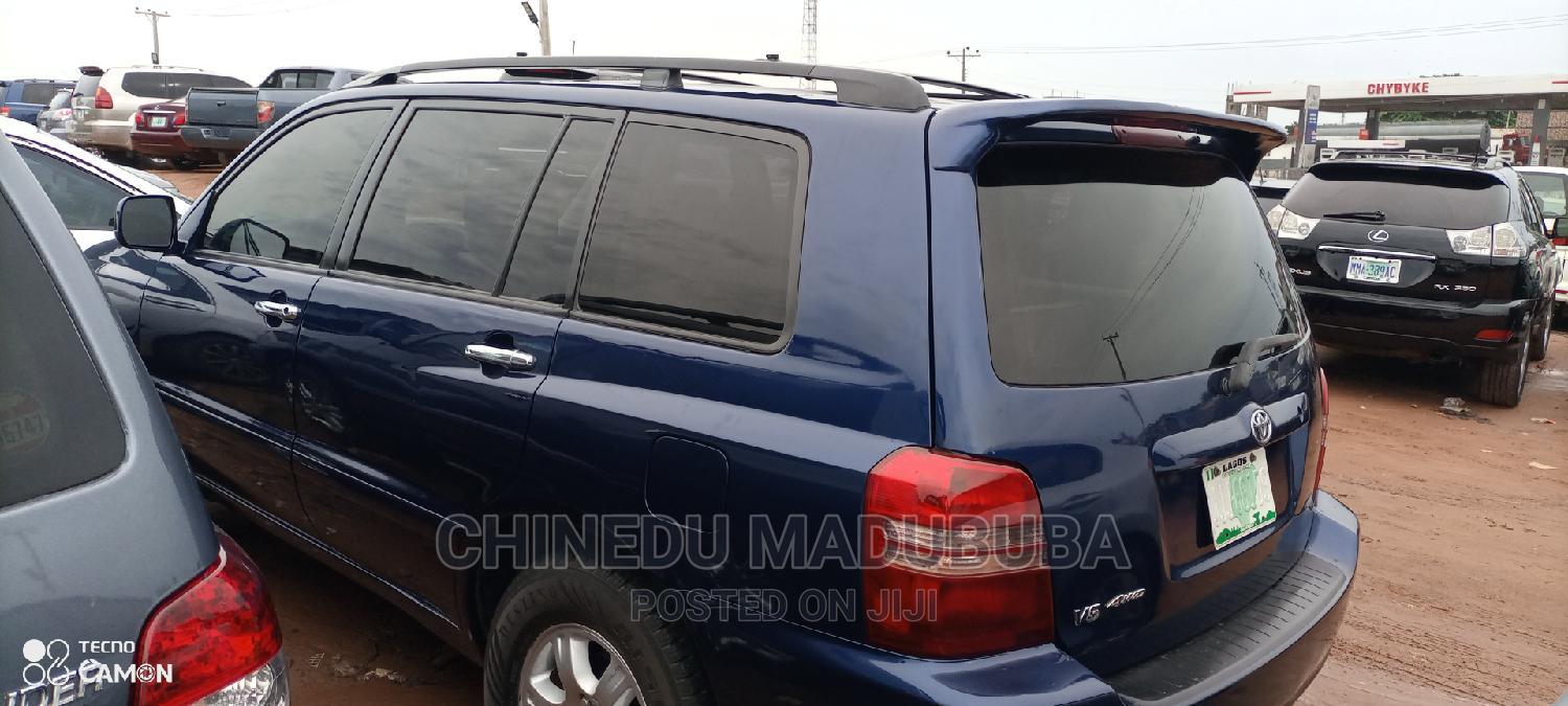 Toyota Highlander 2003 Limited V6 AWD Blue   Cars for sale in Owerri, Imo State, Nigeria