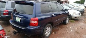 Toyota Highlander 2003 Limited V6 AWD Blue   Cars for sale in Imo State, Owerri