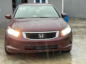 Honda Accord 2008 2.2i-CTDi Sport Automatic Red | Cars for sale in Lagos State, Yaba