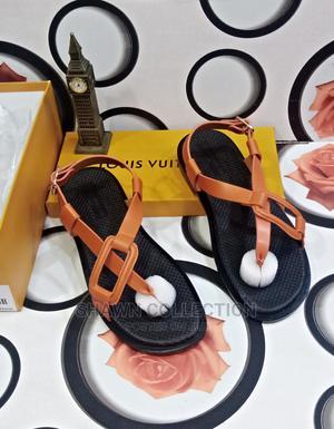 Louis Vuitton Luxury Men Leather Sandals | Shoes for sale in Lagos State, Lagos Island (Eko)