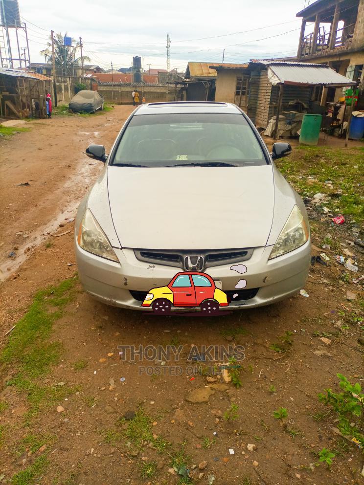 Honda Accord 2005 Silver | Cars for sale in Ibadan, Oyo State, Nigeria