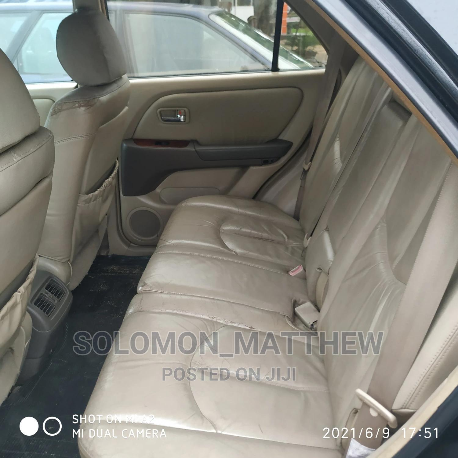Lexus RX 2003 Black   Cars for sale in Port-Harcourt, Rivers State, Nigeria