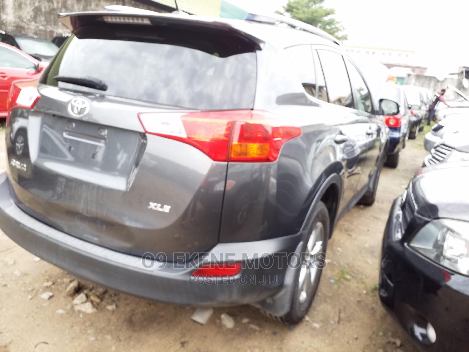 Toyota RAV4 2014 Gray | Cars for sale in Isolo, Lagos State, Nigeria