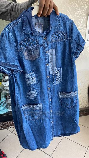 Ladies Quality Turkey Jeans Dress   Clothing for sale in Lagos State, Ikeja